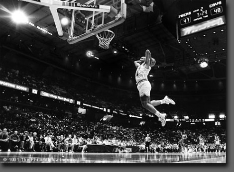 Charles Barkley, © 1991 The Philadelphia Inquirer