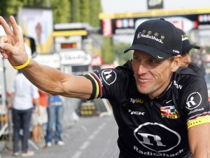 Lance Armstrong, former professional road racing cyclist (photo courtesy of Reuters / Francois Lenoir)