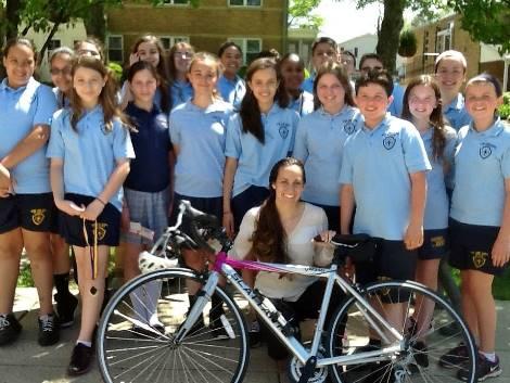 Rebecca Gonzalez of Coast to Coast for Catholic Schools.